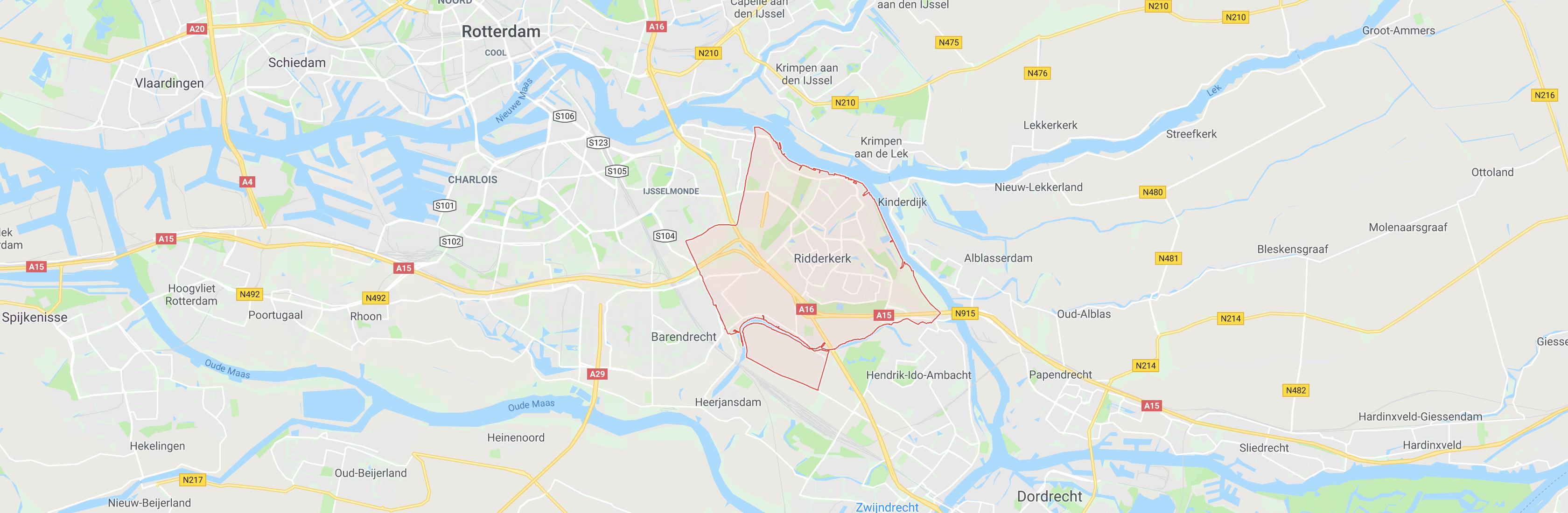google maps ridderkerk